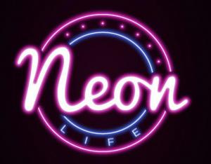neon life logo