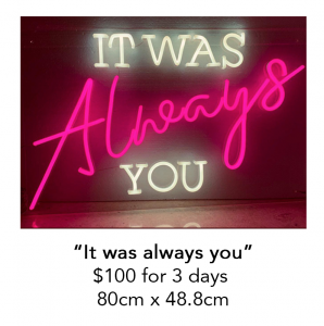 It was always you 298x300 - It was always you