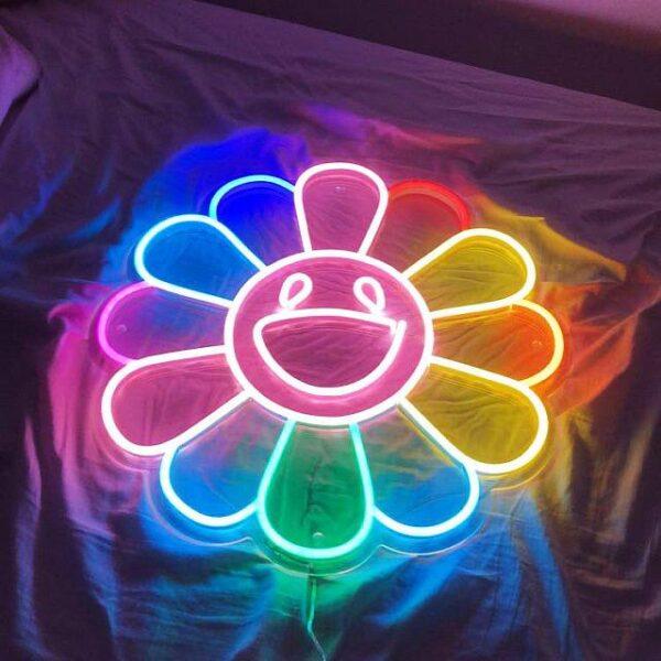 'Murakami' Neon Sign