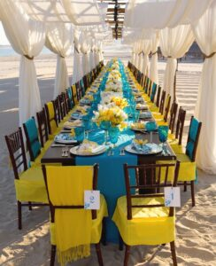 table1 244x300 - 5 New Wedding Décor Trends for your Big Day