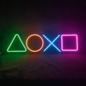 'Playstation' Neon Sign