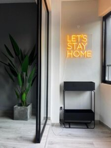lets stay home sign 225x300 -