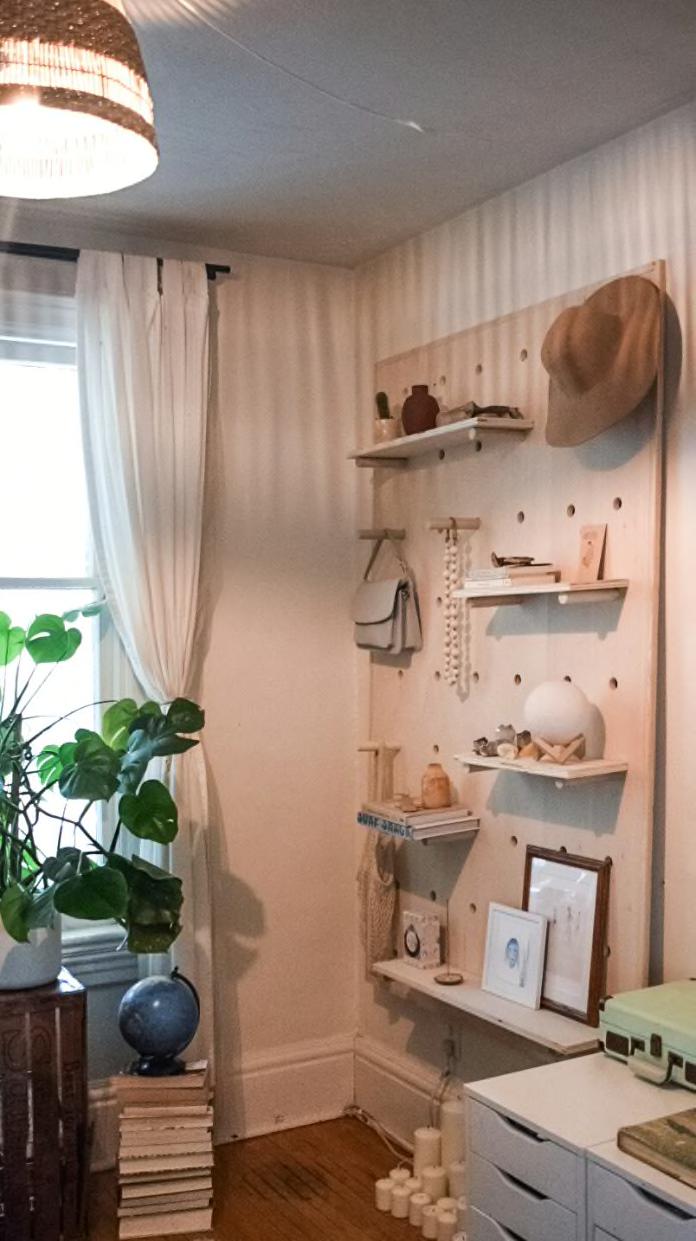 shelf it up - Fabulous budget hacks to make your studio apartment spacious!