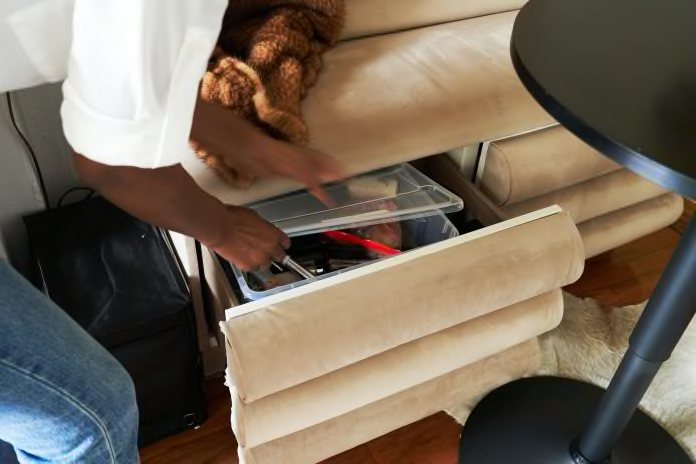 take a peak - Fabulous budget hacks to make your studio apartment spacious!